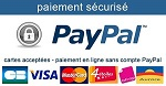 Paiement Paypal possible
